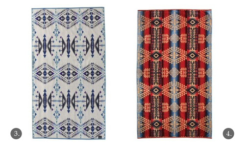 Navajo-Inspired Towels by Pendelton - Big Thunder, Canyonlands