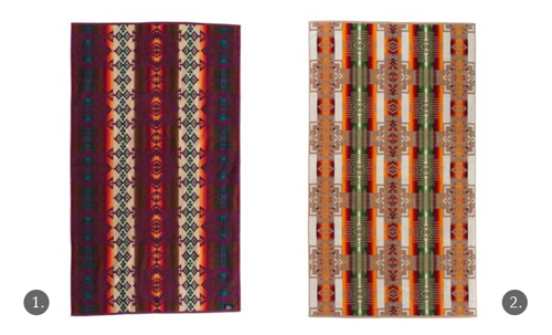 Navajo-Inspired Towels by Pendelton - Chief Joseph, Jerome