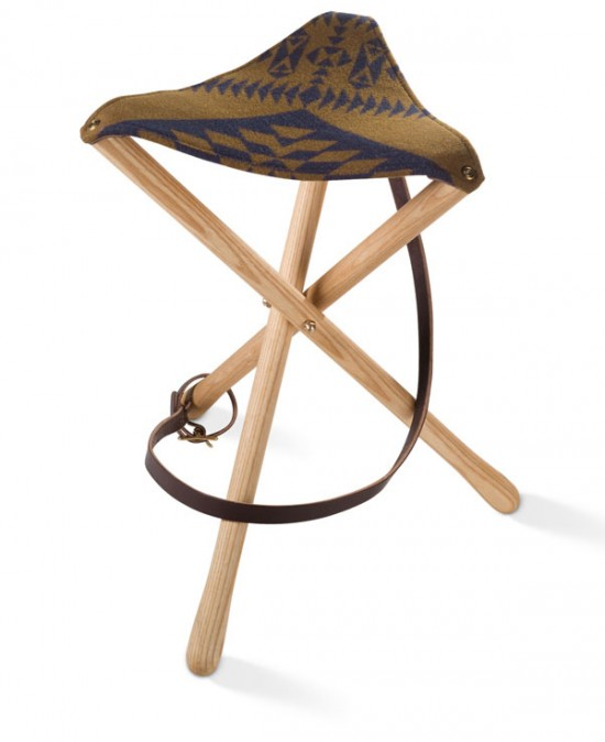 fabulous fauteuils - the pendelton thomas camp stool