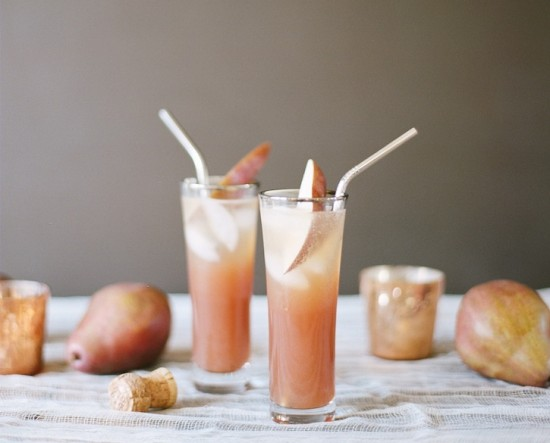 Share a Drink? - Pear Rum Blush