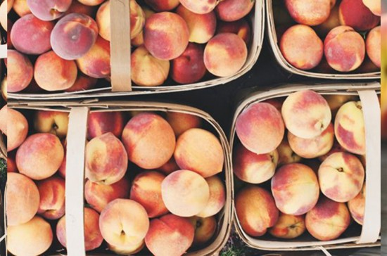 10 must do's before labor day - eat a peach | FINDING SHIBUSA