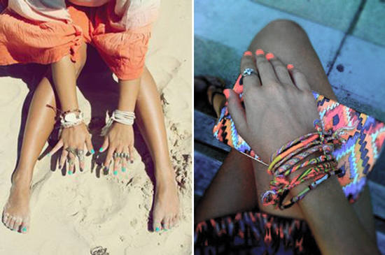 10 must do's before labor day - paint your nails your favorite summer shade | FINDING SHIBUSA