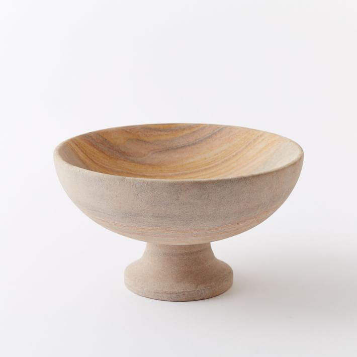 The Sandstone Centerpiece Vase by Amy Merrick for West Elm